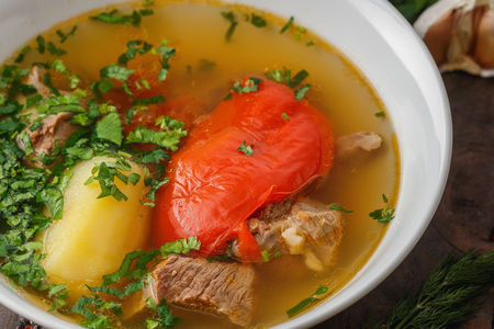 Суп Хашлама из говядины