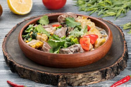 Сковорода мясная из говяжьей вырезки