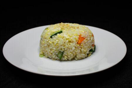 Рис, жаренный с креветкой