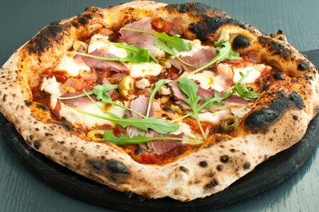 Пицца Мясная с куриным филе