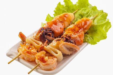 Шашлычок из морепродуктов