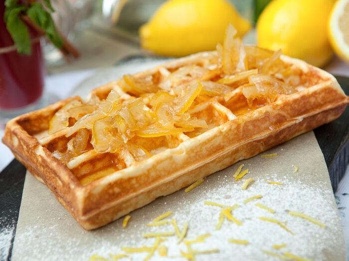 Вафля Лимон конфи