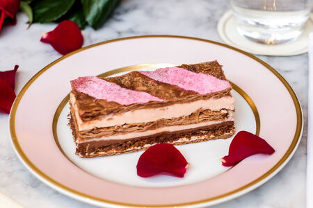 Мильфей Роза-Шоколад
