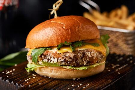 Бургер Нью-Мехико вегетарианский