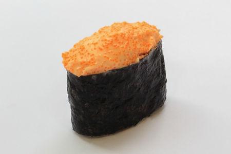 Запеченные суши Мидии