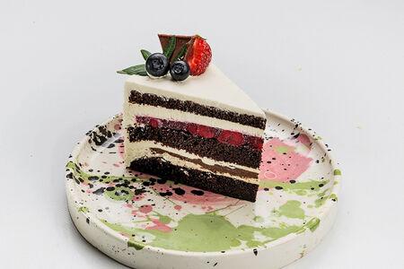 Торт Шоколадный с вишневой прослойкой