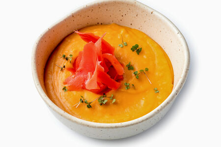 Суп с бататом и имбирем