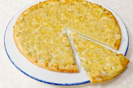 Осетинский пирог с картофелем и сыром сулугуни