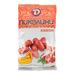 Колбаски «Дымов» сырокопчёные хамон