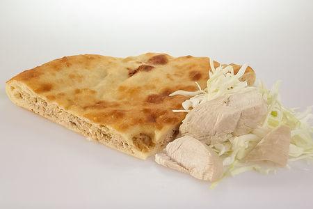 Пирог с индейкой и капустой