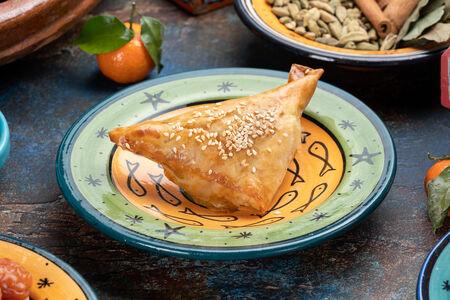 Пирожок Бриуат с овощами