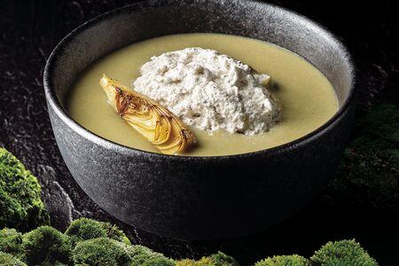 Крем-суп из артишоков