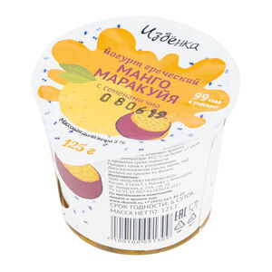 «Избёнка» 3% манго-маракуйя-чиа