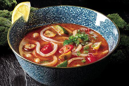 Томатно-овощной суп
