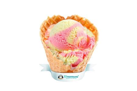 Мороженое Клубника-банан