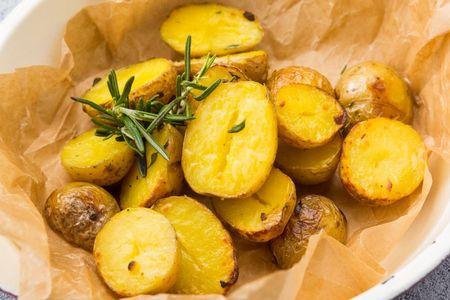 Зепеченный Бэби картофель