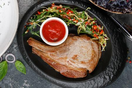 Свиная корейка-гриль