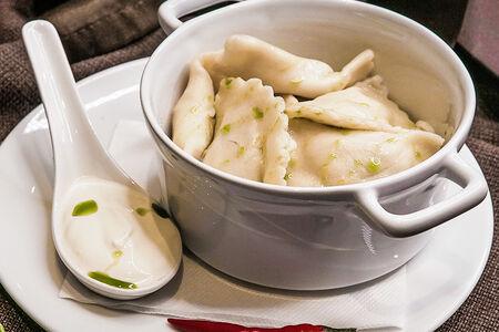 Вареники с картофелем и белыми грибами