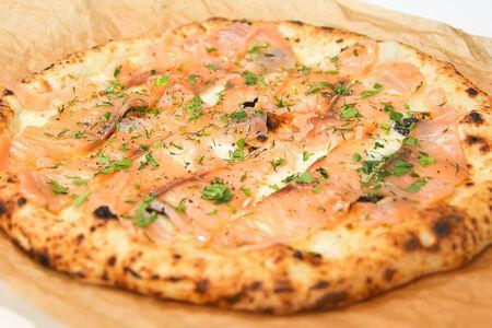 Пицца Наполи Сливочный лосось