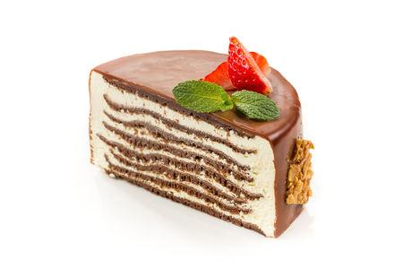 Десерт Крепвиль шоколадный
