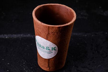 Съедобный стаканчик