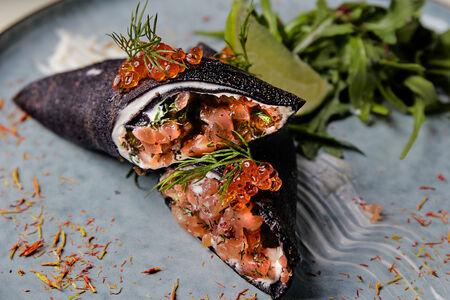 Рулет из лосося