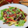 Фото к позиции меню Теплый салат с ростбифом