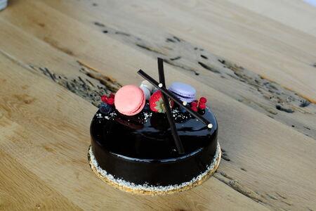 Торт семиэтажный шоколадный