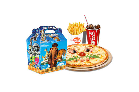 Комбо Детская пицца с игрушкой