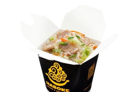Рис Жасмин с курицей в лемонграссовом соусе