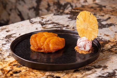 Тартатин из ананаса