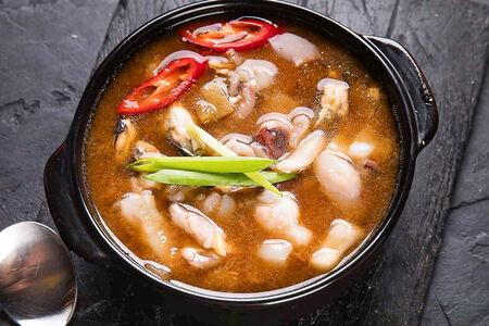 Суп Твендян-Тиге с морепродуктами