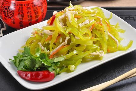 Салат из болгарского перца с курицей Цин