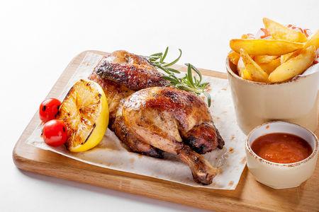Цыпленок жареный по-домашнему
