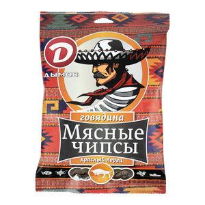 Чипсы «Дымов» говядина с красным перцем