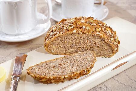 Хлеб Ржаной бездрожжевой с семечками