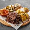 Фото к позиции меню Говяжья грудинка с картофелем бейби