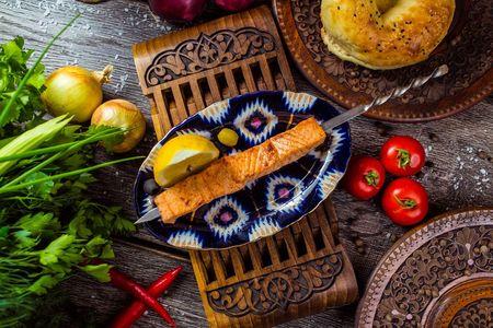 Балык-кебаб