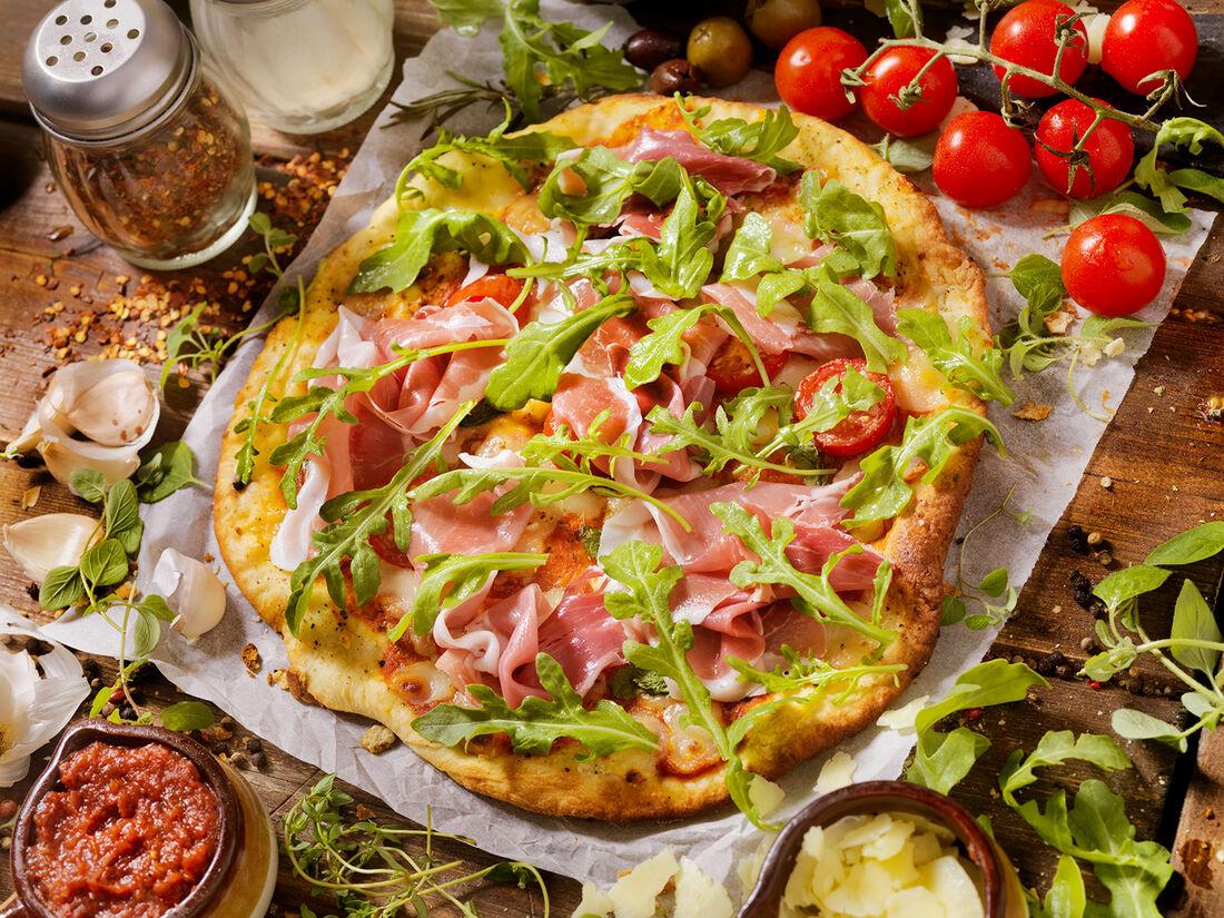 Dosty pizza