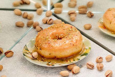 Пончик Фисташковый