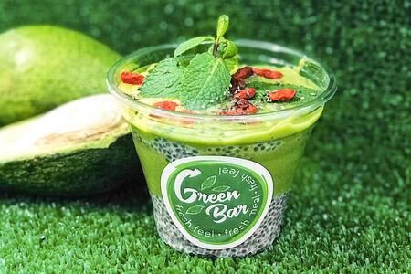 Пудинг Зеленый