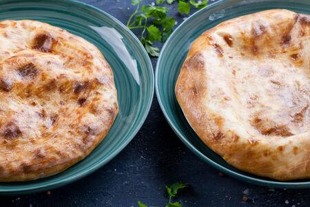 Хычины со шпинатом и сыром