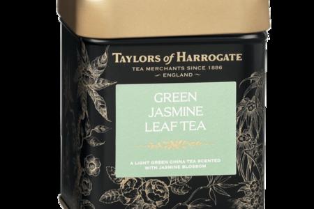 Чай зеленый Taylors of Harrogate с цветками жасмина в жест. банке