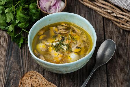 Домашний суп-лапша
