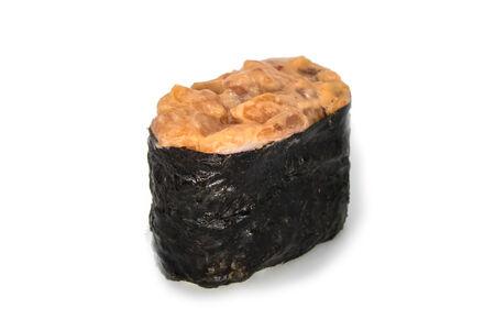 Запеченный Гункан с лососем