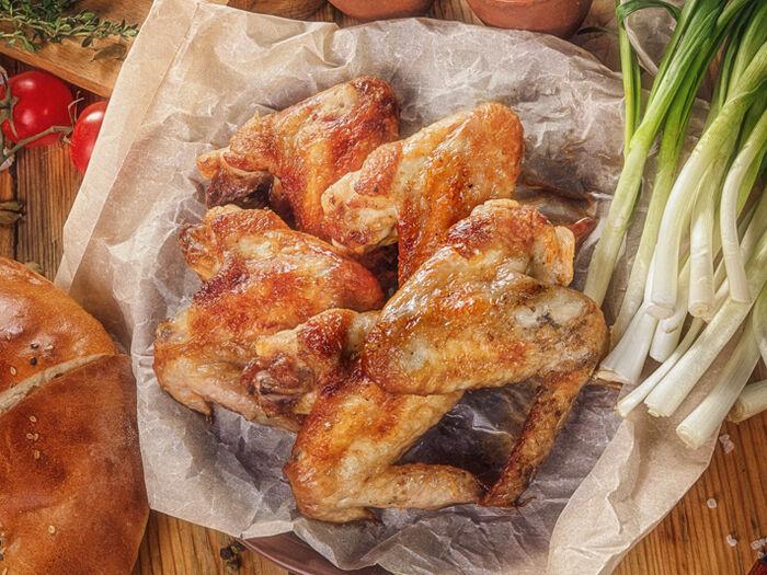 Пикантные куриные крылышки