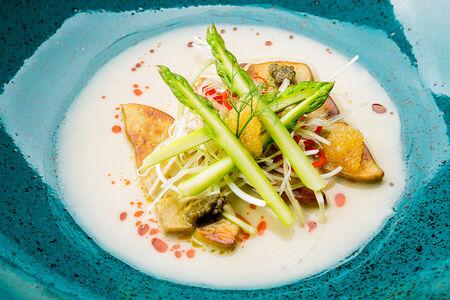 Фуа-гра с азиатским соусом