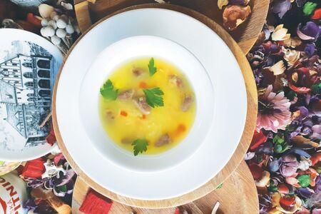 Суп с куриный