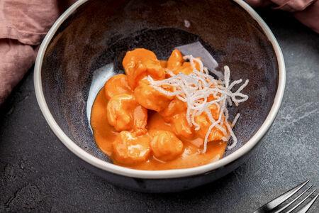 Креветки в соусе Том-ям