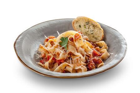 Паста Фетучини в вегетарианском стиле